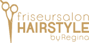 friseursalon hairstyle by regina logo footer gold transparent