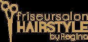 friseursalon hairstyle by regina logo footer gold transparent