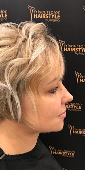 Friseur Lauf Hairstyle by Regina Kundenfoto Skyscrapper Natascha